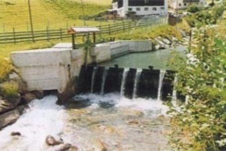 Wasserfassung - in Betrieb